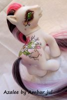 My little pony custom Azalee by AmbarJulieta