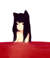 Bathing in Blood by sakukoto