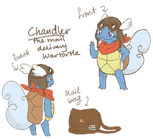 Chandler Wartortle Xsystem Ref by scilk