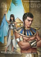 Joseph and Pothipar's Wife. by Reinsstudio