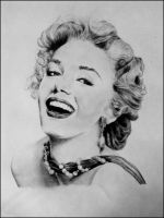 Marilyn monroe by andrea-gatos