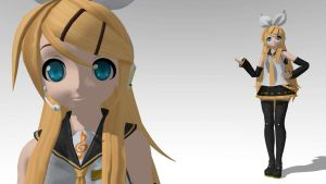 Future Rin DT version MMD download by Reon046