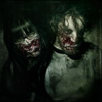 Distorted smiles by IMAGENES-IMPERFECTAS