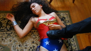 Spanish Wonder Woman Defeated by Game-Over-Girls