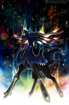 Legendary Xerneas by Xous54