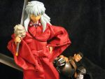 Inuyasha defeats Guts by blkn3ko