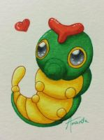 Caterpie by Yunss