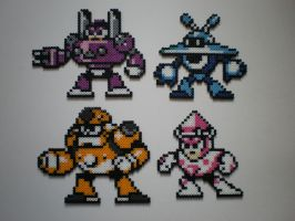Robot Master MM9 No.2 by 8-BitBeadsStudio