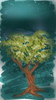 SKETCH A TREE by kkcooly