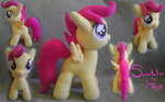 Scootaloo Plushie by cinnamon-sheep