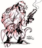 -HellBoy- by Zorgia