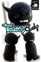 Black Beasty Slouchy by cleody