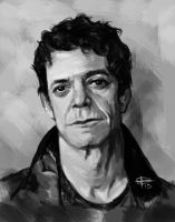 RIP Lou Reed by uncannyman