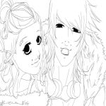 LineArt:. G L A C I and I G G I by LainyLu