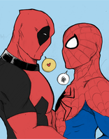 Spideypool by khakki