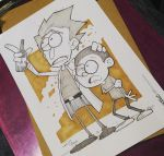 Rick and Morty Commission by kaicastle