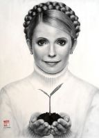 Julia Tymoshenko by VforVieslav