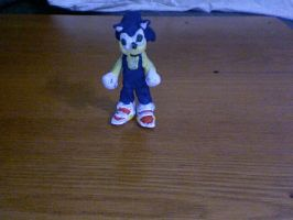 clay sonic by KingKirbyThe3rd
