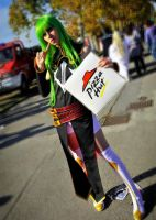 Cosplay - I love pizza by Didi-hime