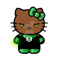 John Stewart GL Kitty by Mutant-Cactus