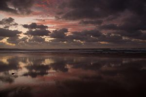 Famara Beach by bogorya