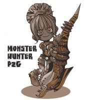 I love Hunting Horn by PAL0527