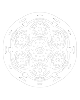 30 2015 Meditation Mandala by bcre80v
