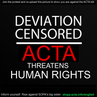STOP ACTA by Maxime-Loonatic