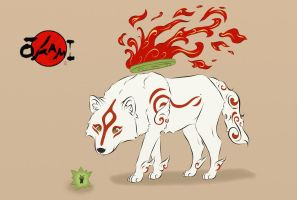 Ammy And Issun by twizzlerfox