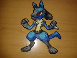 Big Lucario by Jesusclon
