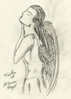 Angel without Eraser by Freetha