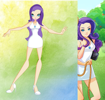 My little pony-Winx: Rarity by winxgh