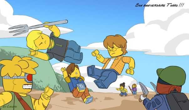 Les Legos du Chaos by Little-Endian