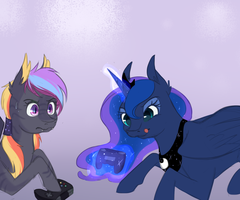 Commission: Video Games by Chiweee