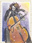 The Cellist (Holiday Card Project) by ShenaniBOOM