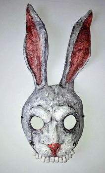 Halloween Rabbit Mask by Rednon