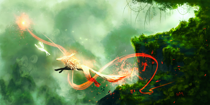 And Learn to Soar the Skies Once Again: Lost Ember by Amphispiza