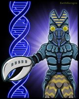 Ultraman 80 - The Baltan DNA Code by earthbaragon