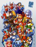 Megaman Galore by SketchBravo