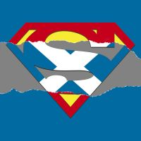 Superman Scotland Ripped by fraser0206