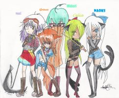 The Quintet of Doom by Hinataiscute45
