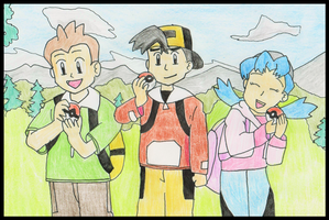 Pokemon Chronicles: Jimmy, Marina and Vincent by WalkerP