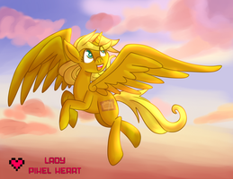Golden Ticket Flying Commission by ladypixelheart