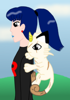 Pixel and Purry Again by MikariStar