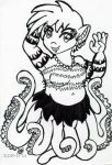 [Doodle] Octogirl by catcubus