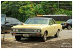 A Nice Yellow Chevelle Malibu by TheMan268