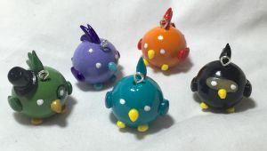 Kotoricon Mascot Charms by CadmiumCrab