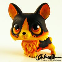 World of Warcraft Molten Corgi Custom LPS by thatg33kgirl