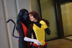 Nightcrawler and Kitty Pryde by RougeLeaderRed