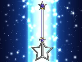 Sailor Silver Star's Wand by ParlourTricks